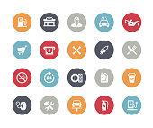 Gas Station Icons // Classics