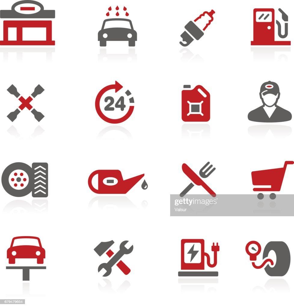 Gas Station Icons // Redico Series