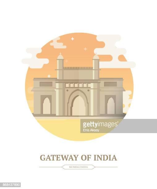 インドの gatway - マハラシュトラ州点のイラスト素材/クリップアート素材/マンガ素材/アイコン素材