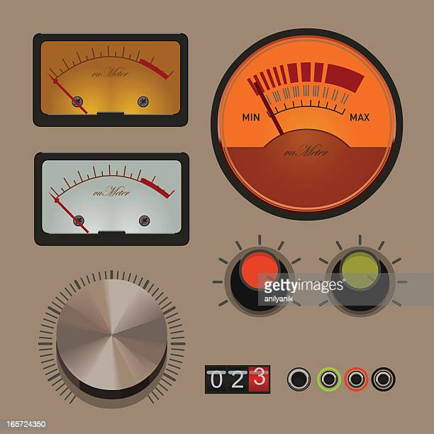 gauges and knobs