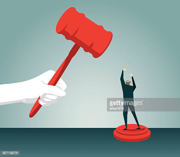 gavel, authority, judgement,law, justice,protest, displeased, furious, anger - courthouse stock illustrations, clip art, cartoons, & icons