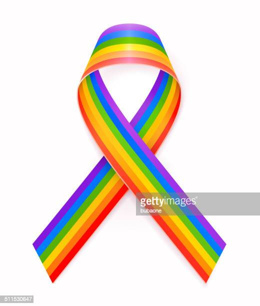Gay Pride Ribbon