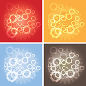 Gear Abstract Background