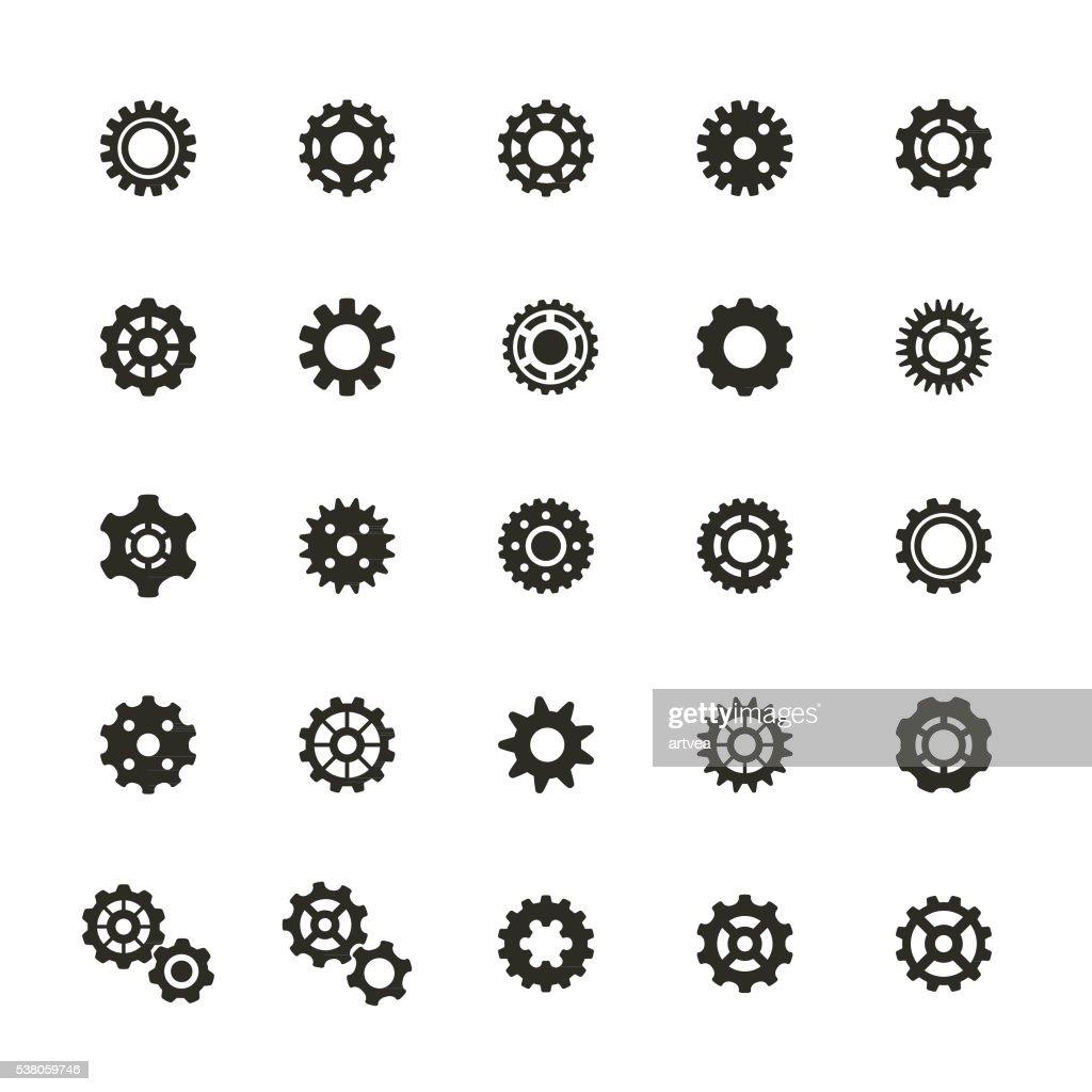 Conjunto de ícones de equipamento : Ilustração