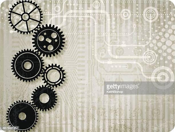Gear - Teamwork Tech Background
