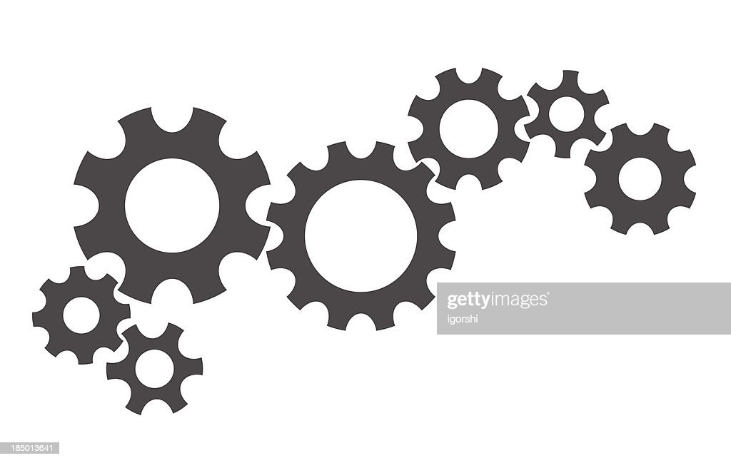 gears abstract background