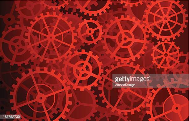 gears background - gearshift stock illustrations, clip art, cartoons, & icons