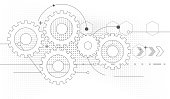 gears drawing