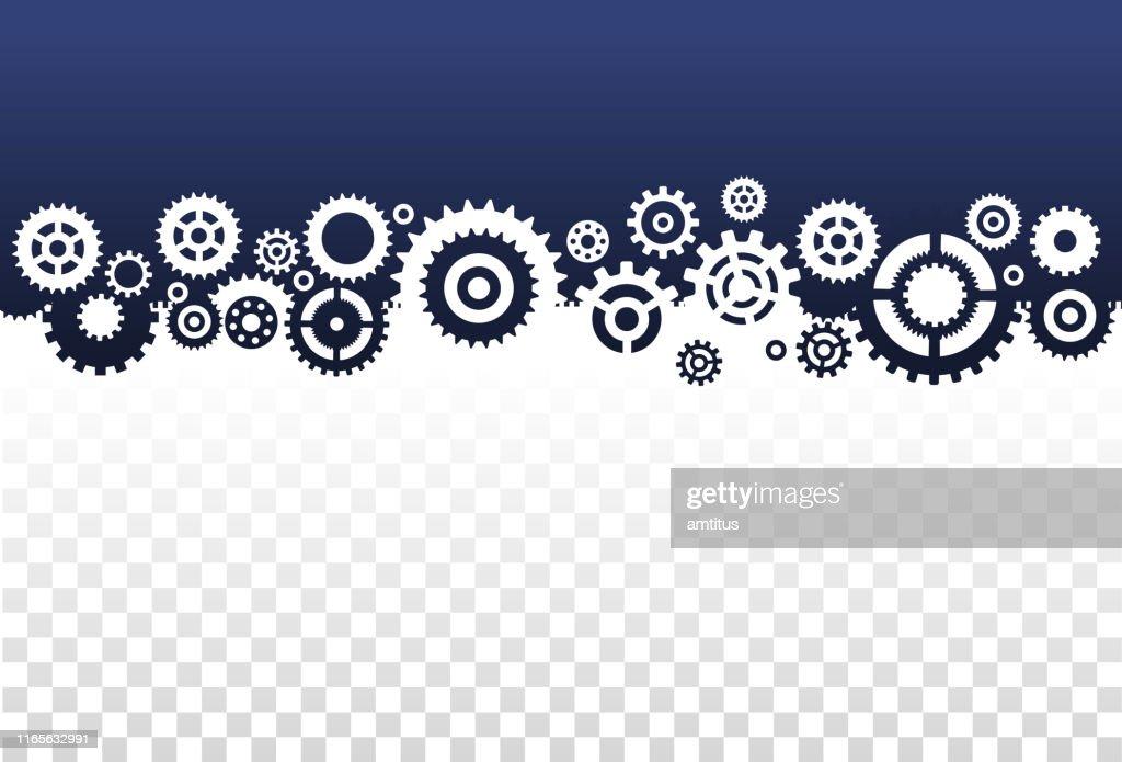 gears frame : stock illustration