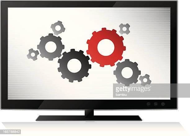 gears in lcd tv