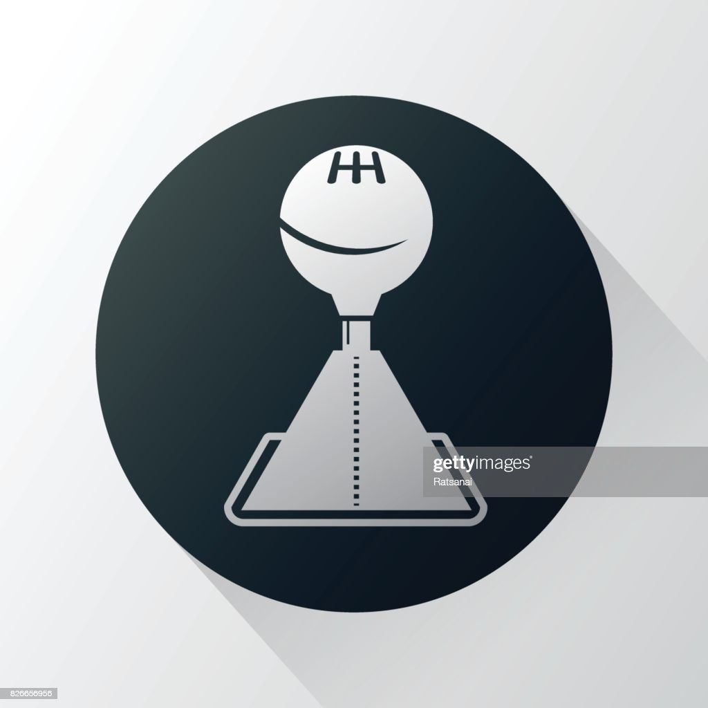 gearshift : stock illustration