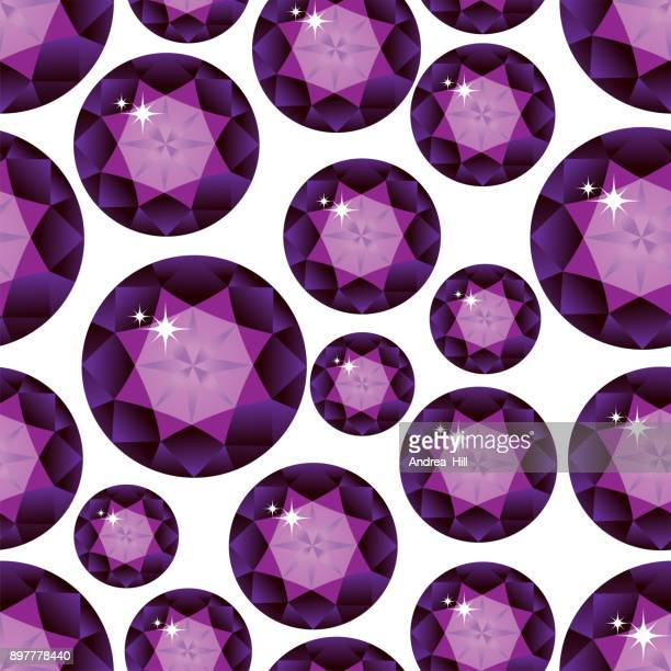 gemstone seamless pattern. vector illustration. - onyx stock illustrations