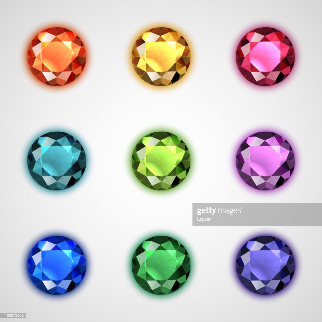 Gemstones set
