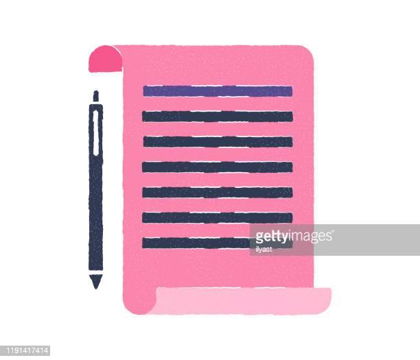gender equality lawsuit flat doodle icon design - criação digital stock illustrations