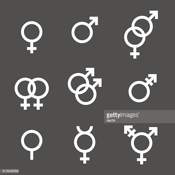 Gender Symbol Set