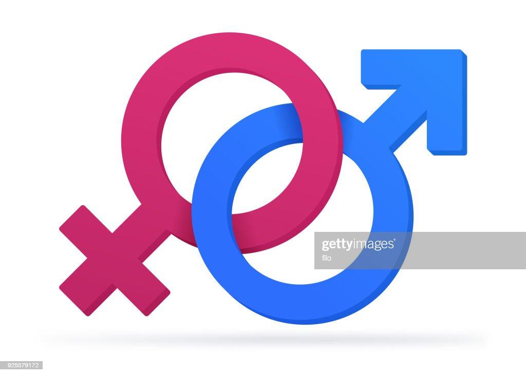 Gender Symbols Vector Art Getty Images