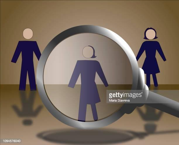 gender-symbole. männlich, weiblich und unisex oder transgender. vektor. - genderblend stock-grafiken, -clipart, -cartoons und -symbole