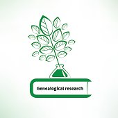 Genealogical research icon