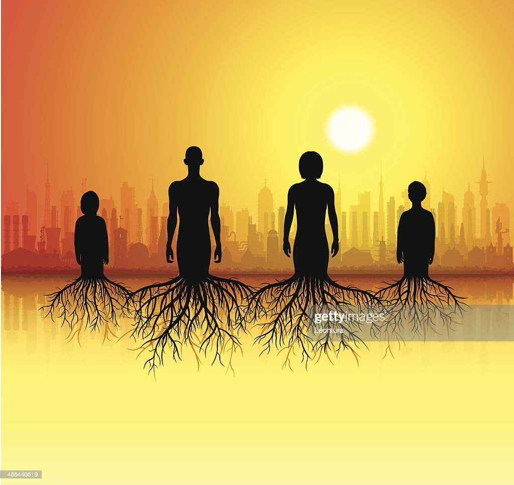 Genealogy : stock illustration