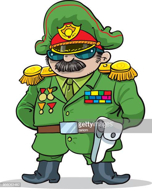 general in  military uniform