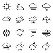 General weather icon concept.