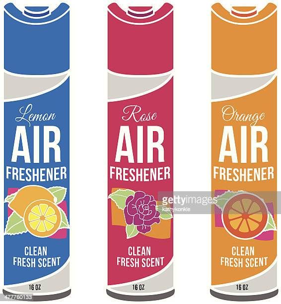 generic air fresheners in different scents