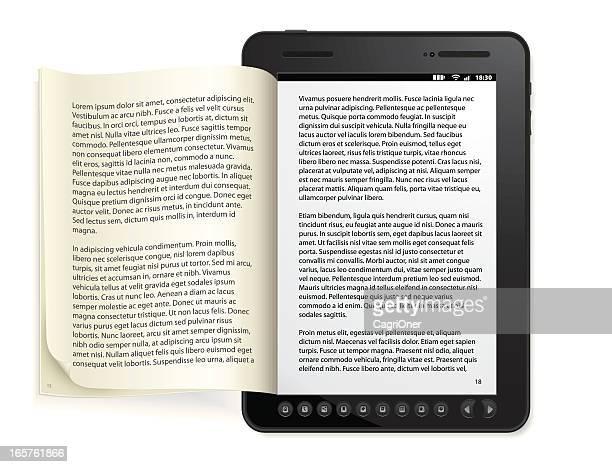 Allgemeiner book Reader Konzept