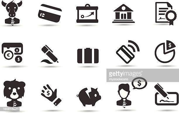 Generic Finance Icons