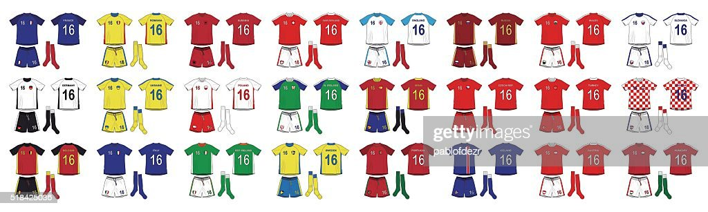 Generic Kits National Teams of Europe