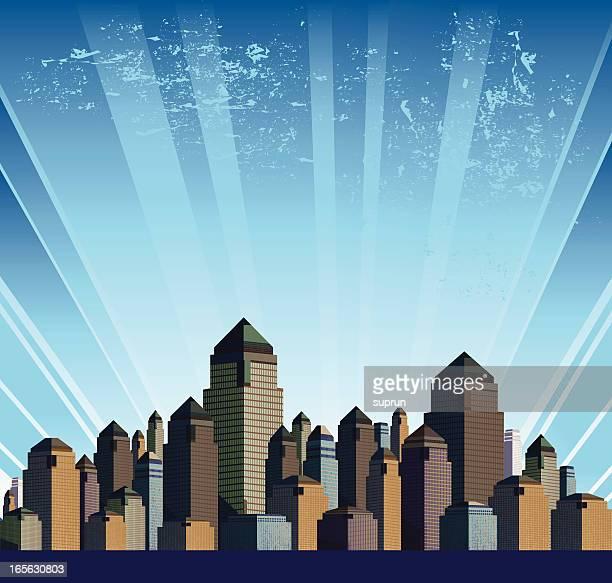 generic modern city - generic description stock illustrations, clip art, cartoons, & icons