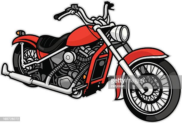 generic motorcycle - motorcyclist stock illustrations, clip art, cartoons, & icons