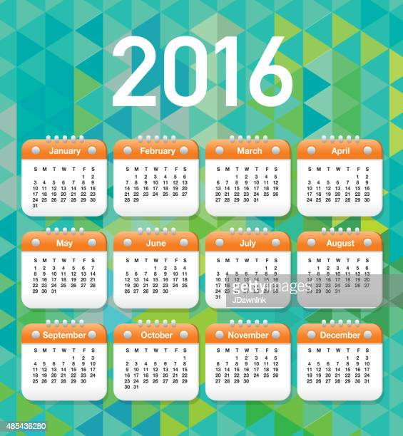 2016 generic printable calendar design template layout - 2015 stock illustrations, clip art, cartoons, & icons