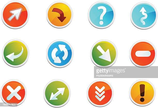 Generic Web Icons & Arrows