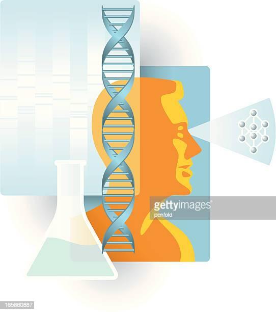 genetic engineering - genetic modification stock illustrations, clip art, cartoons, & icons