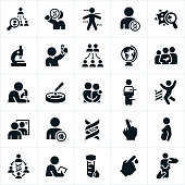 Genetic Testing Icons