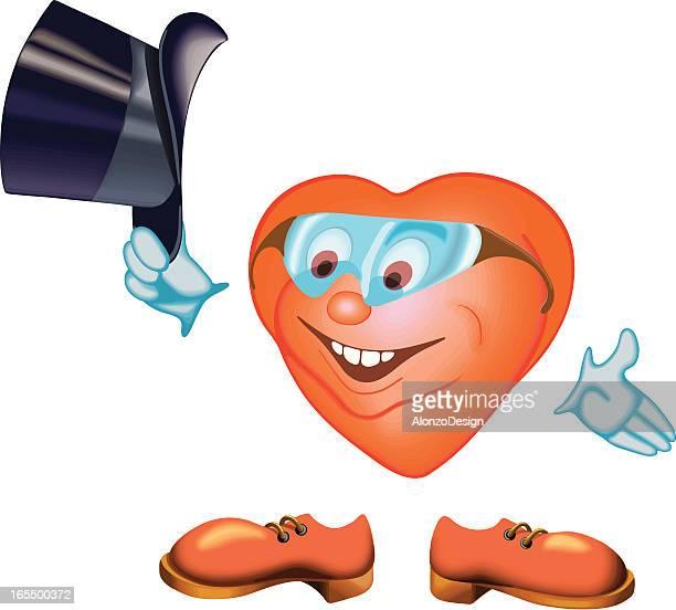 gentelman smiley heart