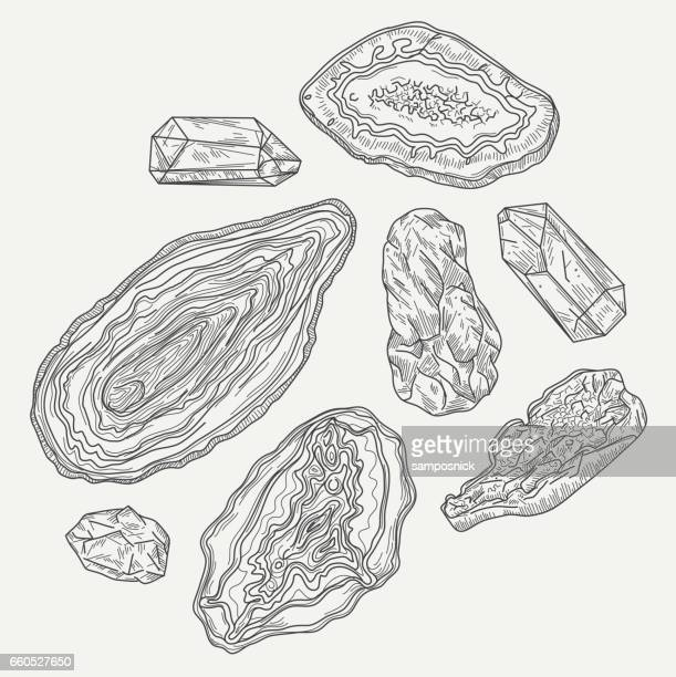 Geodes, Gems and Rocks