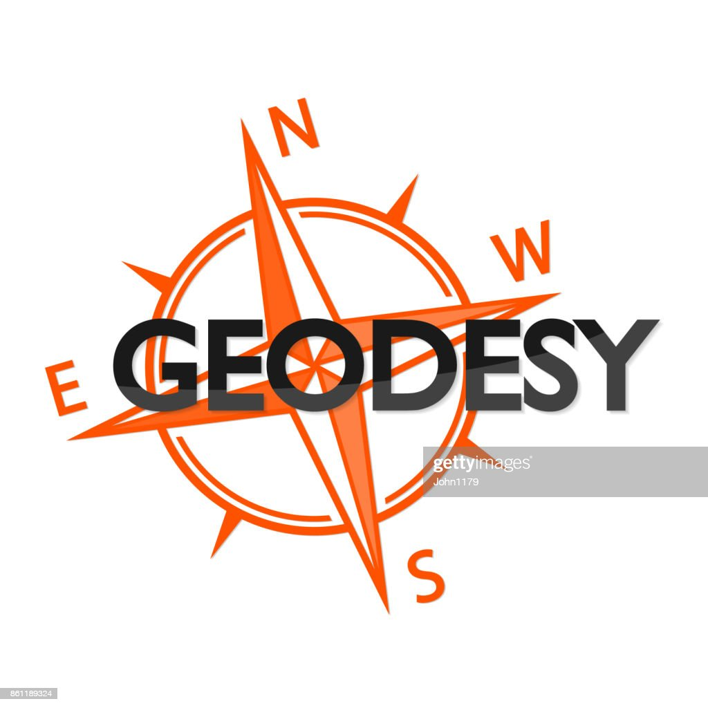 Geodesy and the wind rose symbol
