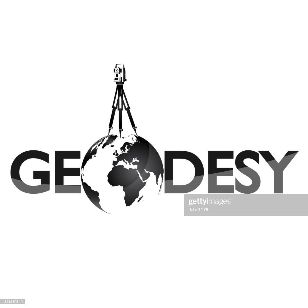 Geodesy symbol for surveyor