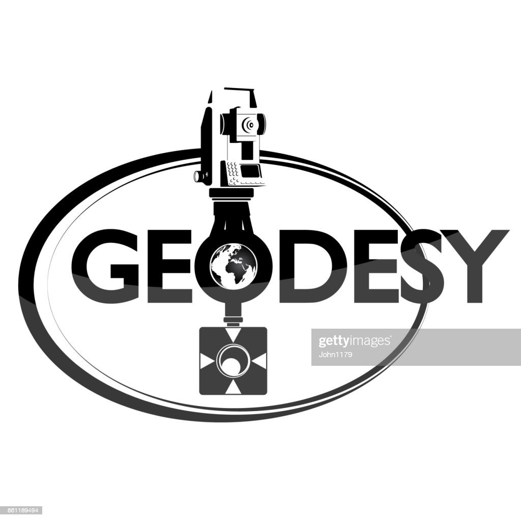 Geodesy symbol with tool