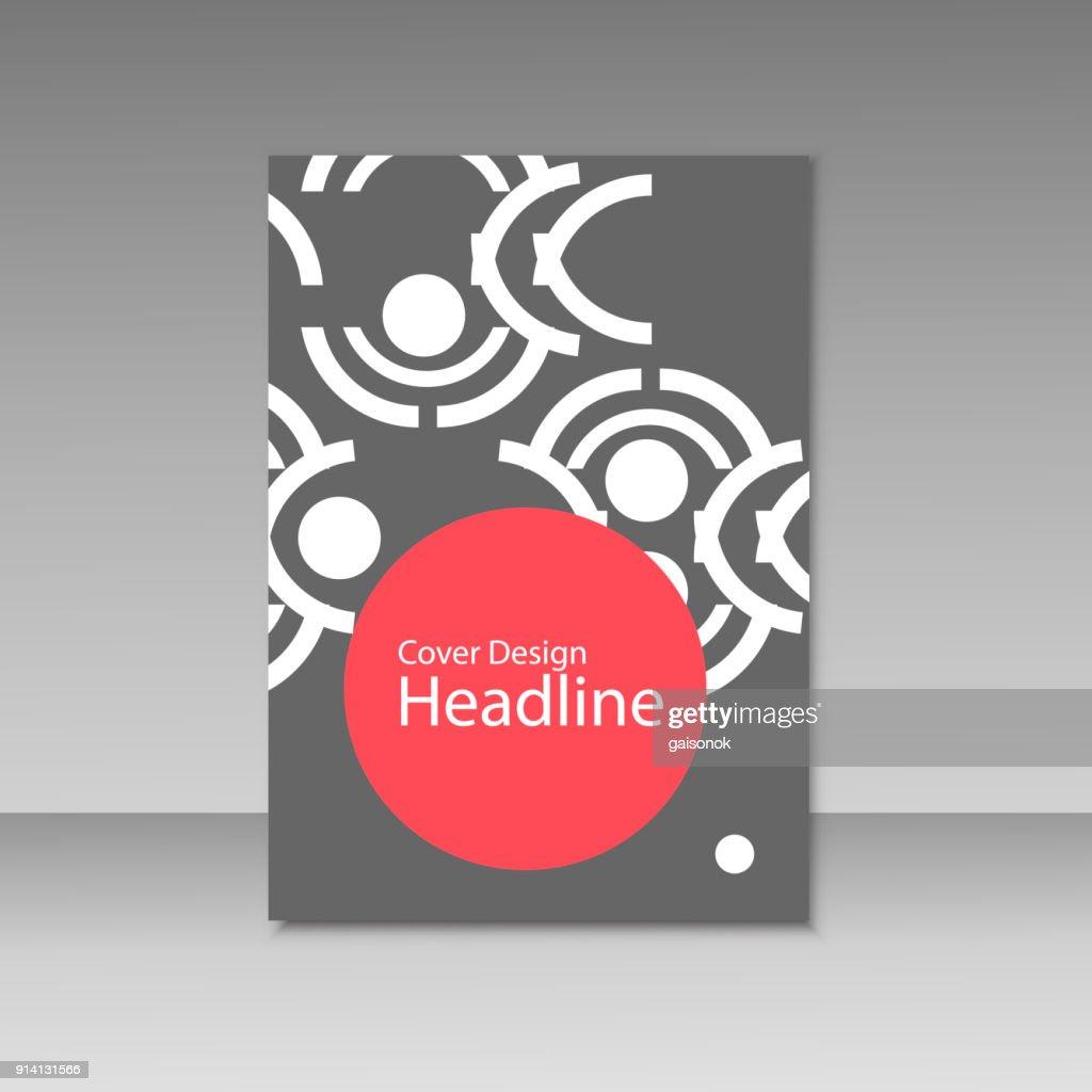 Geometric Abstract Brochure Templates Modern Design Elements Vector ...