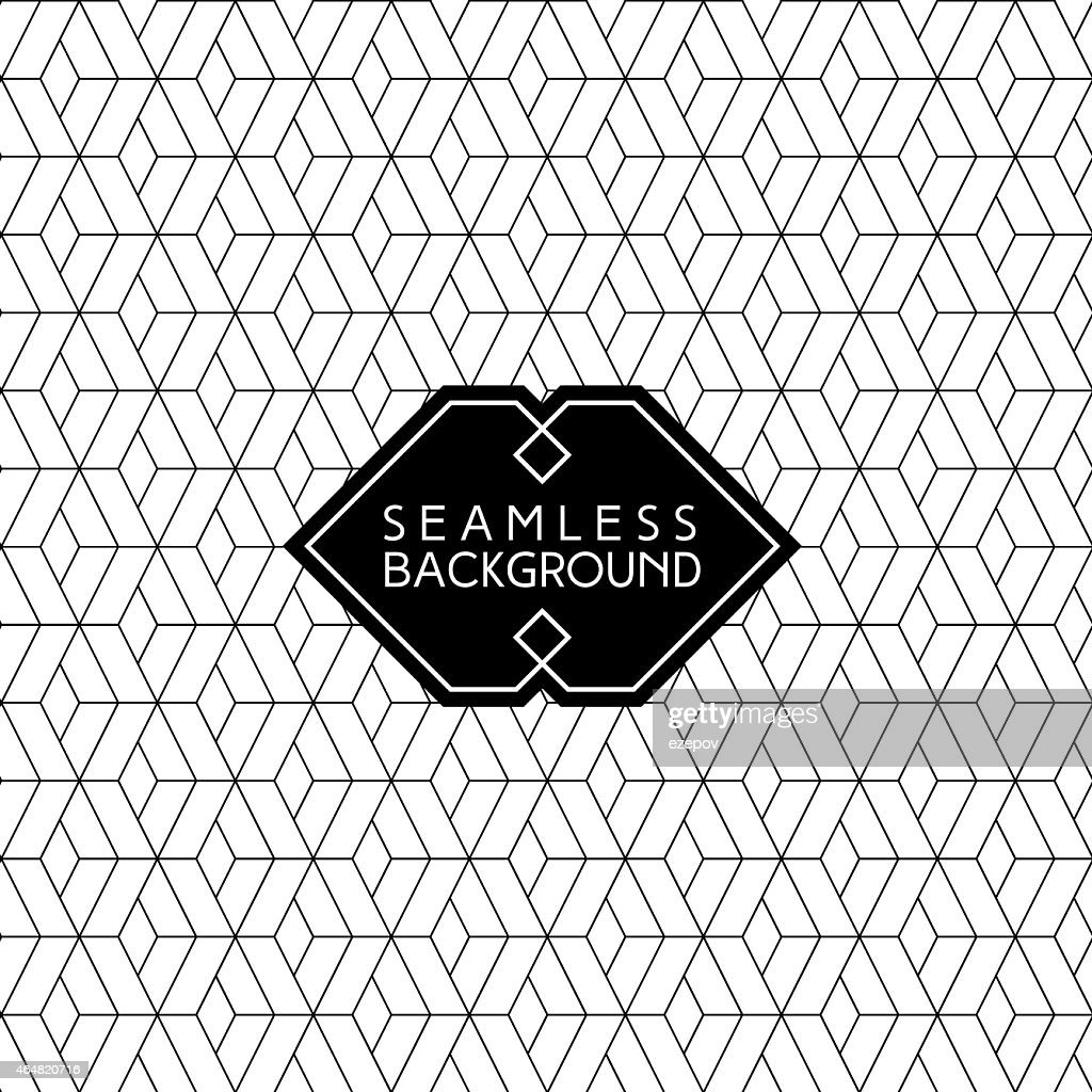 Geometric diamond patterned background