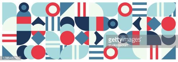 geometric graphic design covers - graphic print stock illustrations