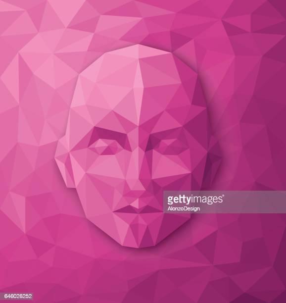 Geometric Human Face