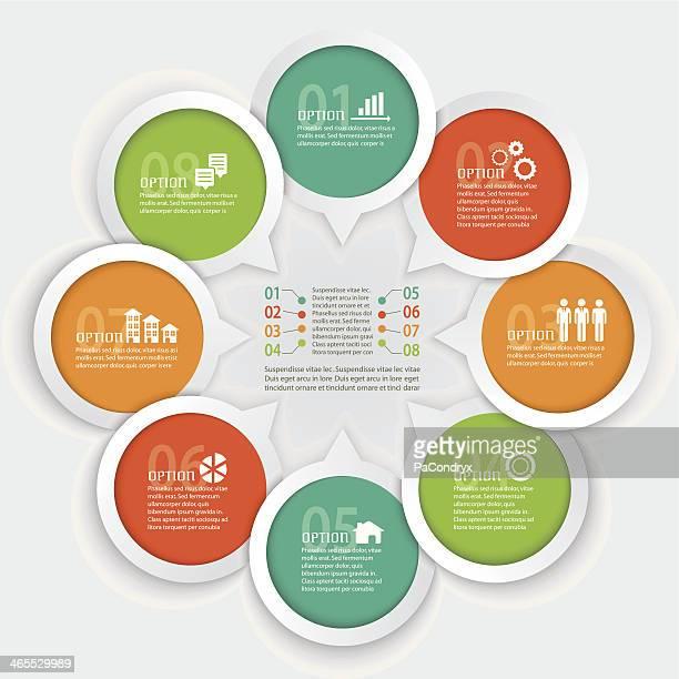 Geometric Infographic Element