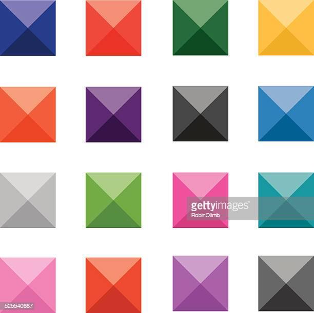 Geometric Interface Icons
