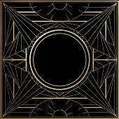 Geometric line frame