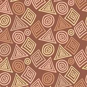 Geometric objects pattern