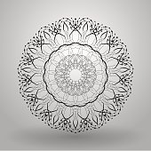 geometric pattern radial