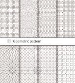 Geometric pattern seamless for your design.